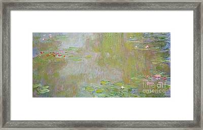 Waterlilies At Giverny Framed Print