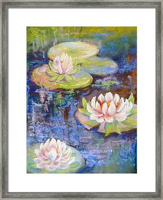 Waterlillies Framed Print