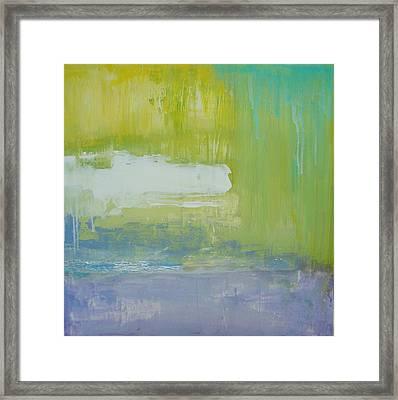 Waterlilly Framed Print by Ora Birenbaum