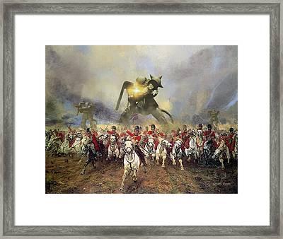 Waterloo Framed Print