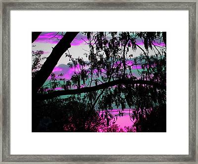 Framed Print featuring the photograph Waterloo Sunset by Susan Carella