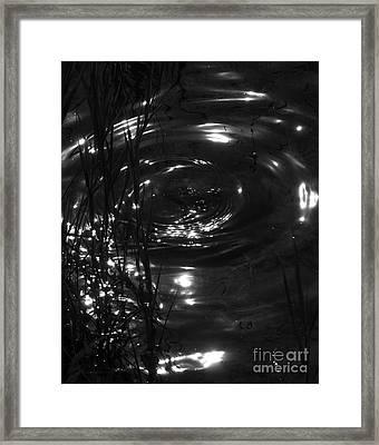 Watermark Framed Print by Hideaki Sakurai