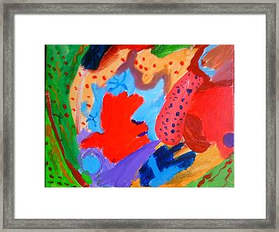 Watermelon Framed Print by Charles  Jennison