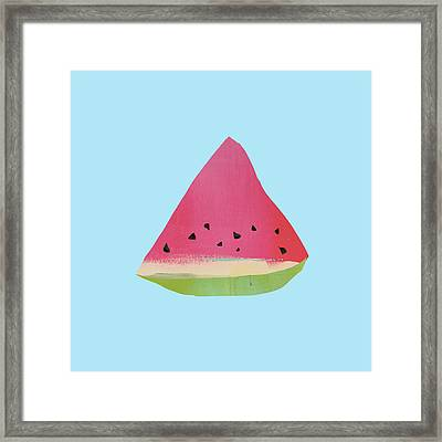 Watermelon Framed Print by Jacquie Gouveia