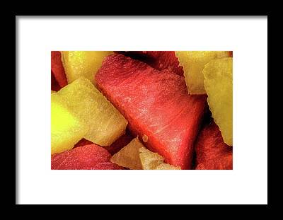 Watermellon Framed Prints