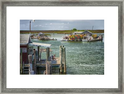 Watermen Of Tangiers Framed Print