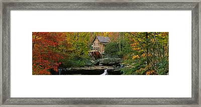 Watermill In A Forest, Glade Creek Framed Print