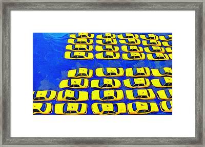 Waterpark - Da Framed Print by Leonardo Digenio