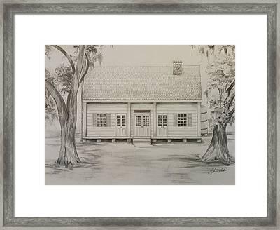 Waterproof Plantation Framed Print