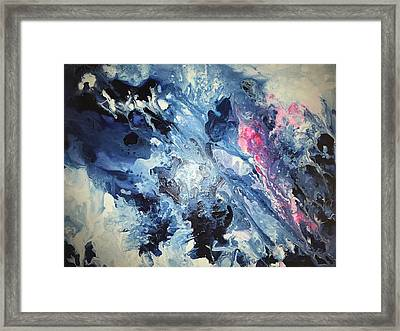 Waters Down From Heaven Framed Print by Carol Daniels