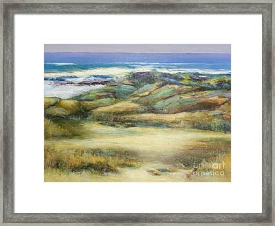 Water's Edge Framed Print by Glory Wood