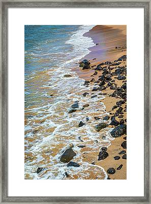 Water's Edge Framed Print by Kelley King