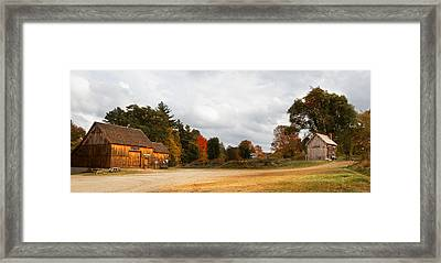 Waters Farm Framed Print by April Brown