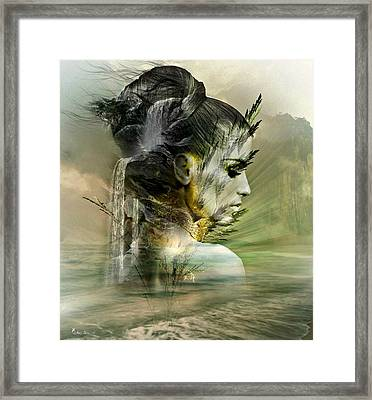 Waters Of The Whispered Sole Framed Print