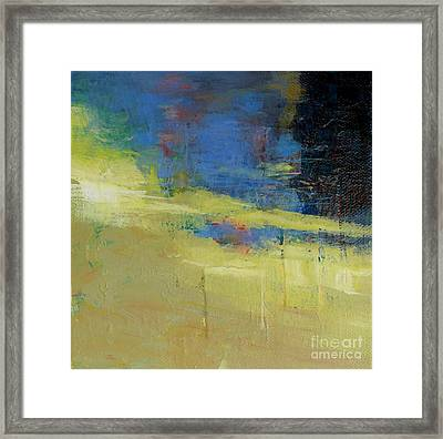 Waters' Poetry 7 Framed Print by Melody Cleary