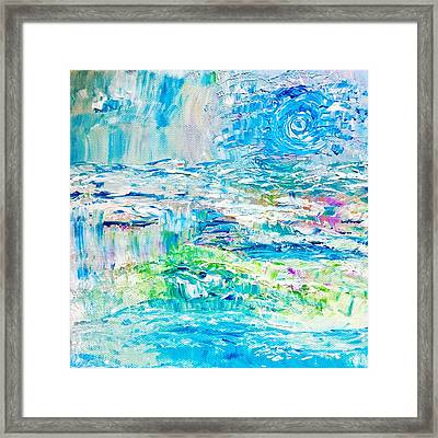 Waters Restore Framed Print by Amy Drago