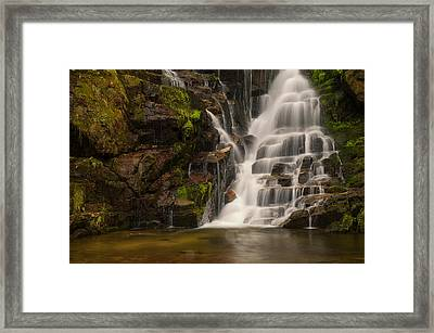 Water's Staircase Framed Print