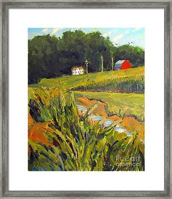Watershed To The Wabash Framed Print by Charlie Spear