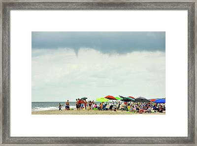Waterspout Framed Print by JAMART Photography