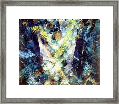 Waterspout Framed Print by Sue Reed