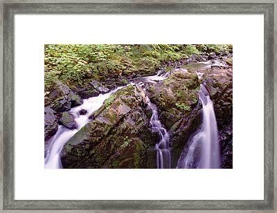 Waterstreaming Framed Print