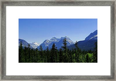 Framed Print featuring the photograph Waterton Paradise by Blair Wainman