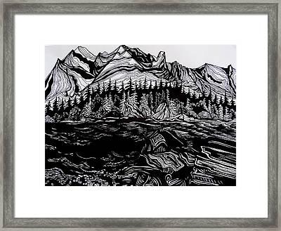 Waterton Park Framed Print