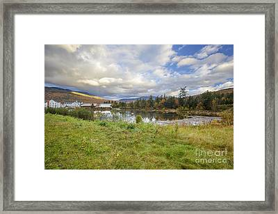 Waterville Valley New Hampshire Framed Print
