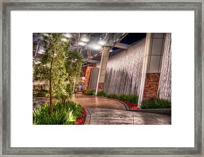Waterwall Framed Print