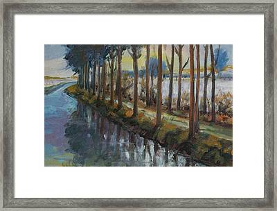 Waterway Framed Print