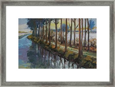 Waterway Framed Print by Rick Nederlof