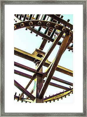 Waterwheel #1 Framed Print