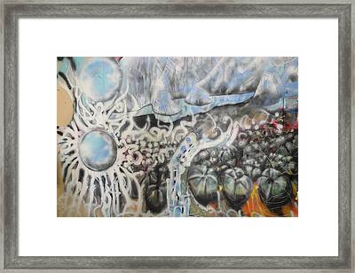Framed Print featuring the mixed media Waterwork by Steven Holder