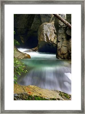 Waterworks Framed Print by Marty Koch