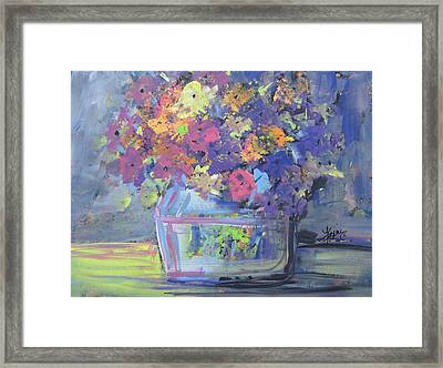 Watery Vessel Framed Print by Terri Einer