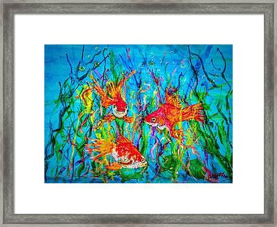Watery Wonderland Framed Print