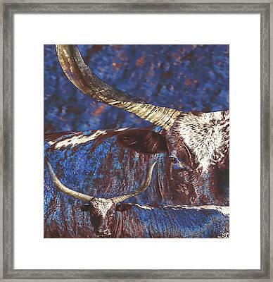 Watusi Blues Framed Print