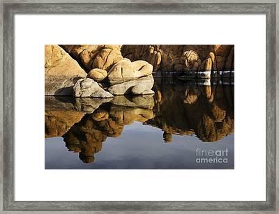 Watson Lake Arizona 3 Framed Print by Bob Christopher