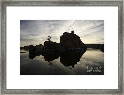 Watson Lake Arizona 6 Framed Print