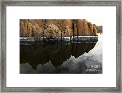 Watson Lake Arizona 7 Framed Print by Bob Christopher