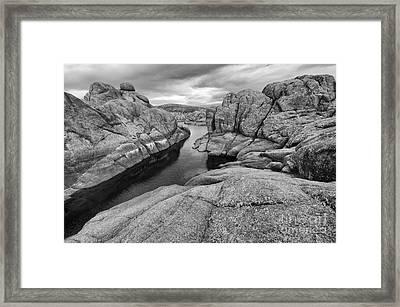 Watson Lake Arizona 8 Framed Print by Bob Christopher
