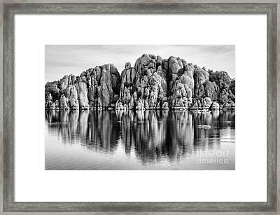 Watson Lake Arizona 9 Framed Print