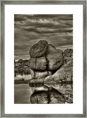 Watson Lake Prescott Arizona Framed Print by K D Graves