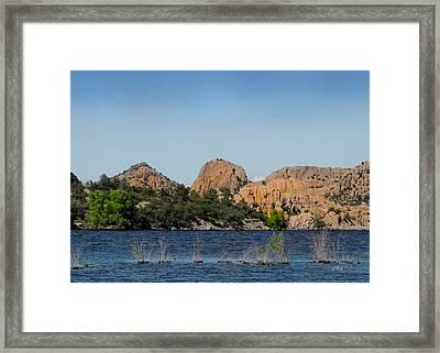 Watson Lake Framed Print by Gordon Beck