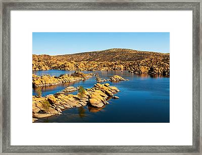Watson Lake - Prescott Arizona Usa Framed Print