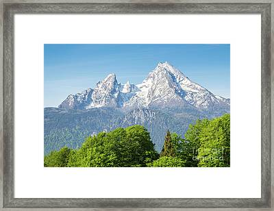 Watzmann Framed Print