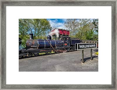 Waunfawr Station  Framed Print by Adrian Evans