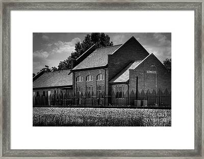 Waurika Ok Station Framed Print by Fred Lassmann