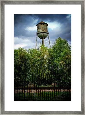 Waurika Old Tower Framed Print