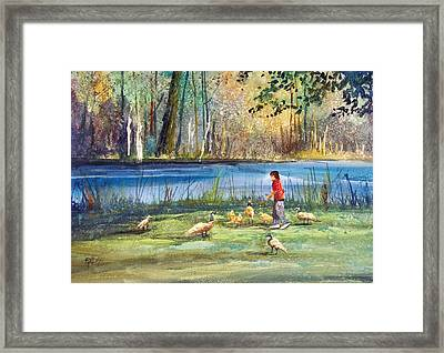 Wautoma Mill Pond Framed Print by Ryan Radke